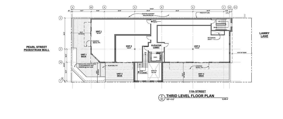 Third Floor - Floor Plans