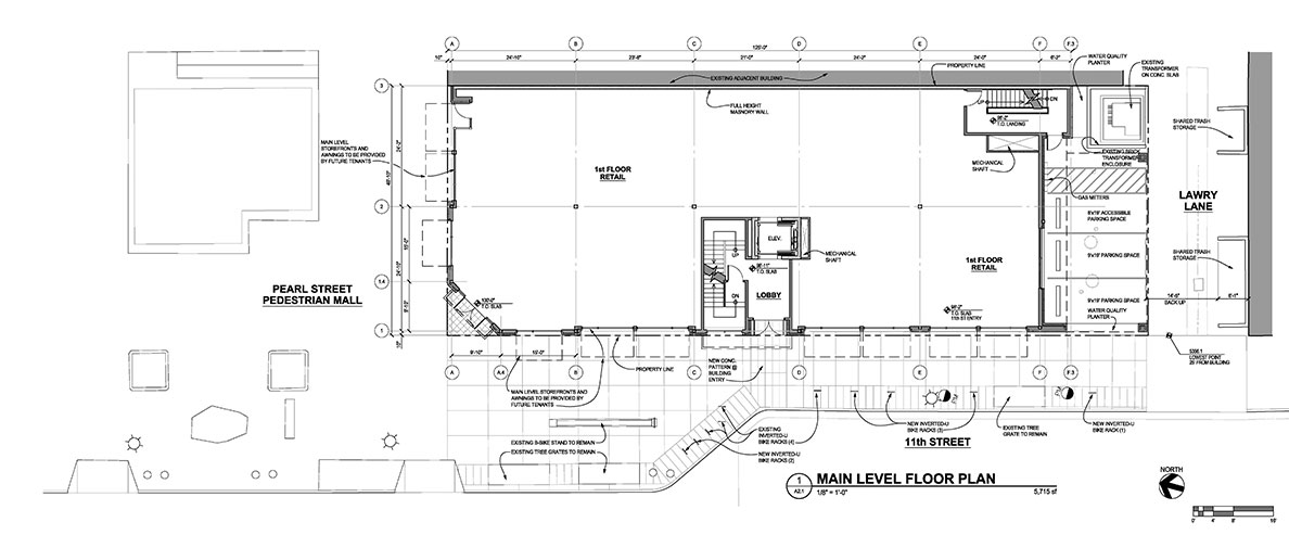Main Level Floor Plan - Floor Plans